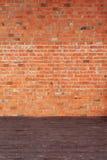 Interior with brick wall Royalty Free Stock Photo