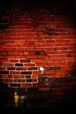 Interior Brick Wall: Hard Light Stock Photo