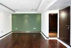 Interior of bright empty room Royalty Free Stock Images