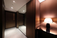 Interior of bright empty room Royalty Free Stock Image