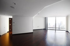 Interior of bright empty room Stock Images