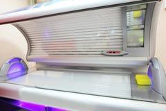 Interior of bright european solarium Royalty Free Stock Photo