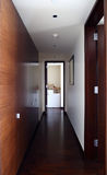 Interior of bright hallway home Stock Image