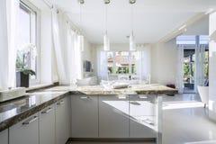 Interior of bright kitchen Stock Photo