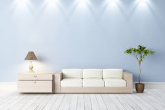 Interior brilhante moderno ilustração do vetor