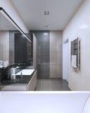 Interior brillante del cuarto de baño Imagen de archivo libre de regalías