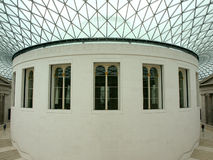 Interior of the British Museum Royalty Free Stock Images