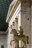 Interior of British museum in London Royalty Free Stock Images