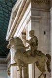 Interior of British museum in London Stock Photos