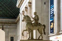 Interior of British museum in London Stock Photo