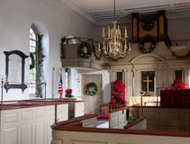 Interior of Bruton Parish Church Stock Photo
