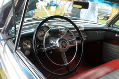 Interior 1950 buick roadmasters. 76c  convertible Royalty Free Stock Photos