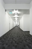 Interior building, corridor Stock Photography