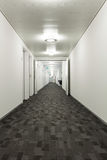 Interior building, corridor Royalty Free Stock Photo