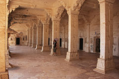 Interior of Bundi Palace, India Stock Photos
