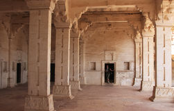 Interior of Bundi Palace, India Stock Image