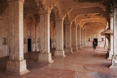 Interior of Bundi Palace, India Royalty Free Stock Photo