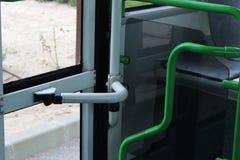 Interior bus photo. Nice photo detail of interior bus stock photos