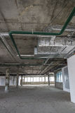 Interior of business center under construction Royalty Free Stock Photography
