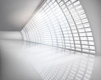 Interior Business Center. Vector illustration. Royalty Free Stock Photo