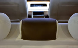 Interior of business vehicle. Interior and seats of business vehicle Royalty Free Stock Image