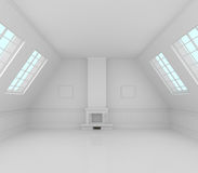 Interior cómodo moderno Foto de archivo