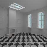 Interior cómodo moderno Imagen de archivo
