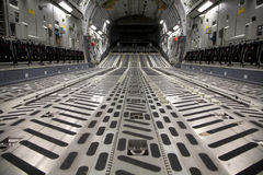 Interior C-17 Fotografia de Stock Royalty Free
