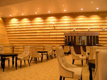 Interior of a cafe. Interior of a modern cafe Royalty Free Stock Photo
