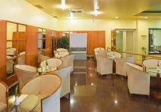 Interior of a cafe bar stock photos