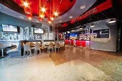 Interior of cafe-bar Prospektbar Stock Images