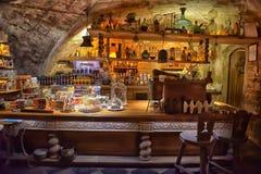 Interior cafe Black Magic Stock Images