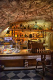 Interior cafe Black Magic Royalty Free Stock Photography