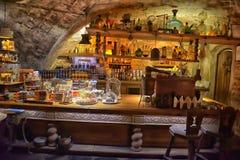 Interior cafe Black Magic Royalty Free Stock Images