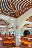 The interior of the cafe in Egypt. Royalty Free Stock Image