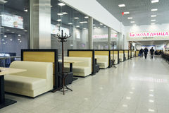 Interior of the cafe  Stock Photography