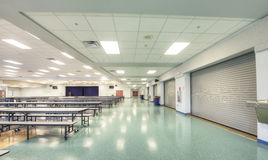 Interior of Cafeteria royalty free stock photo