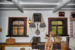 Interior campesino Imagen de archivo libre de regalías