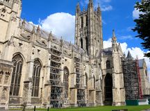 Canterbury Cathedral, England. UNESCO World Heritage Site Stock Photography