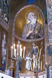 Interior of Cappella Palatina Royalty Free Stock Image
