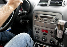 Interior of car royalty free stock image