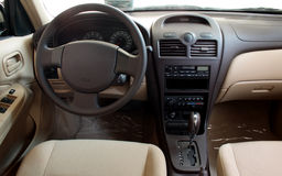 Interior of a car Royalty Free Stock Photos
