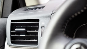 Interior car air conditioning fan Royalty Free Stock Images