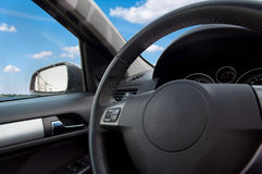 The interior of the car Stock Photo