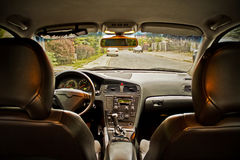 Interior of the car Royalty Free Stock Photo