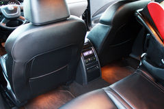 Interior of car with back seat Royalty Free Stock Image