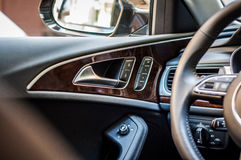 Interior of  car Royalty Free Stock Images
