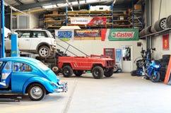 Interior car service Royalty Free Stock Photo