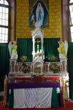 Interior of caribbean church Stock Photography