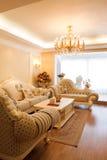 Interior caro luxuoso da sala de visitas Imagens de Stock